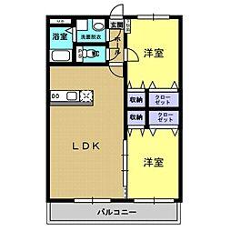 ELSUR[2階]の間取り