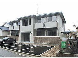 愛媛県松山市針田町の賃貸アパートの外観