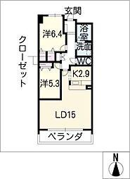 グラン・アベニュー富船[11階]の間取り