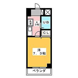 グランメールKAZU[11階]の間取り