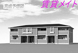 三重県伊勢市神社港の賃貸アパートの外観