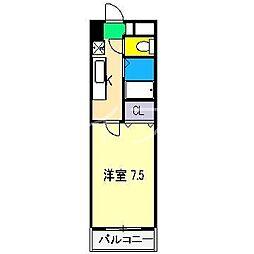 CRAY4[3階]の間取り