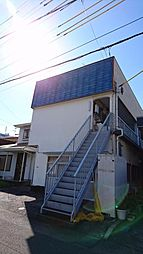 静岡県静岡市駿河区敷地1丁目の賃貸アパートの外観