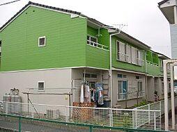 千葉県市川市宮久保の賃貸アパートの外観