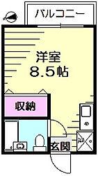 KNハウス[2階]の間取り
