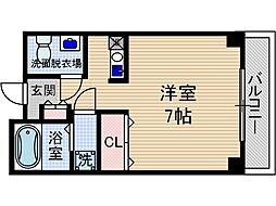 アビタ細川総持寺[3階]の間取り