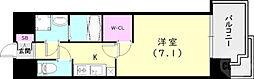 JR東海道・山陽本線 神戸駅 徒歩14分の賃貸マンション 3階1Kの間取り