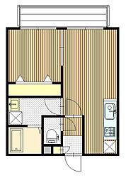 Kafuu Residence N35 (カフーレジデンス)[3階]の間取り