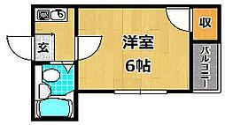 ほーむ21伊加賀[2階]の間取り