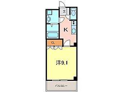 ウィングヒルズながしの二番館[3階]の間取り