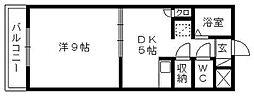 プレジデントヴィラ[B102号室]の間取り