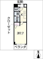 will DO 勝川[8階]の間取り