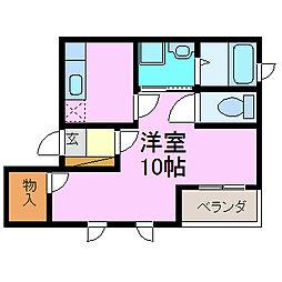FOOT QUEST[2階]の間取り