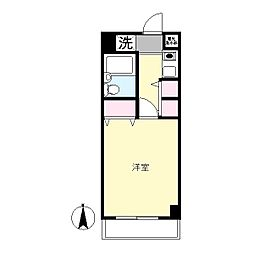 エルニド西生田[3階]の間取り