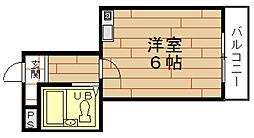 ヒロセハイツ[2階]の間取り