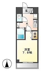 ソレーユ松原[1階]の間取り