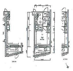 リルシア板橋区役所前[4階]の間取り