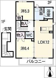 ウインド・フィル[2階]の間取り