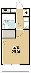 所沢メゾン3号館[216号室号室]の間取り