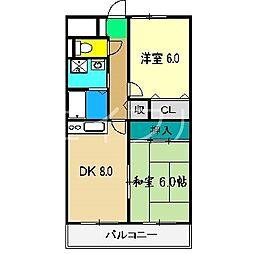 一宮タワーレジデンス[4階]の間取り