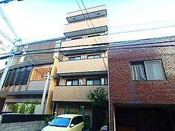 京都府京都市下京区本神明町の賃貸マンションの外観