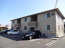 宮崎県宮崎市新城町の賃貸アパートの外観