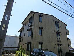 愛知県名古屋市天白区一本松2丁目の賃貸アパートの外観