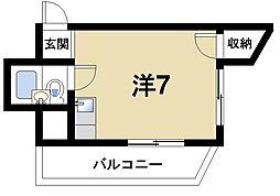 GS南生駒[3階]の間取り