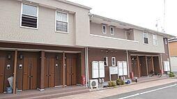 和歌山県紀の川市下井阪の賃貸アパートの外観