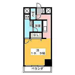 エルブ入船[2階]の間取り