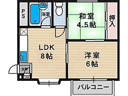 西田辺駅 5.2万円