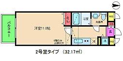 セレブコート梅田[4階]の間取り