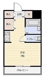 櫻井ビル[4階]の間取り