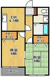 フタチューファームI[2階]の間取り