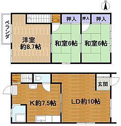 浅井アパート[2階]の間取り