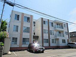 北海道札幌市東区北十九条東19丁目の賃貸マンションの外観