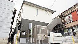 千葉県船橋市湊町3丁目の賃貸アパートの外観