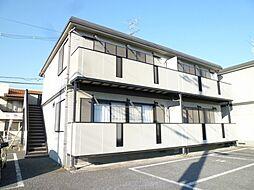 青山コーポC[1階]の外観