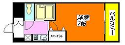 グランドオーク高井田[3階]の間取り