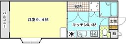 IVYハウス[3A号室]の間取り