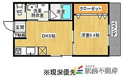 D and I takeo[101号室]の間取り