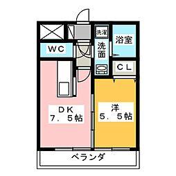 H.I.P[2階]の間取り