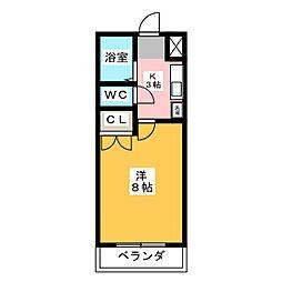 コンフォート元町[3階]の間取り
