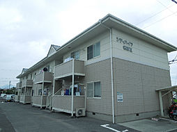 愛媛県松山市星岡2丁目の賃貸アパートの外観