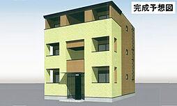 福岡県北九州市八幡東区川淵町の賃貸アパートの外観