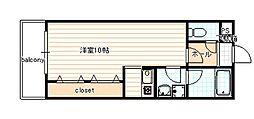ヴァンヴェール35[506号室]の間取り