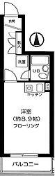 東京都荒川区西尾久7丁目の賃貸マンションの間取り