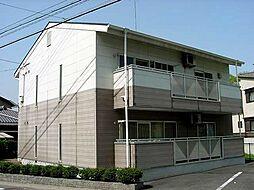 京都府宇治市木幡金草原の賃貸アパートの外観