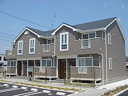 広島県福山市加茂町字上加茂の賃貸アパートの外観