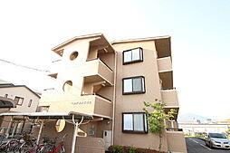 広島県広島市安佐南区古市4丁目の賃貸マンションの外観
